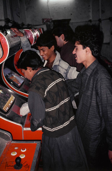 Video game parlors are also commonly used to pick up boys in Pakistan.