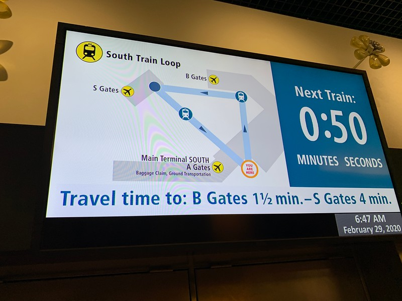 You can travel to Gate B before going to Gate S