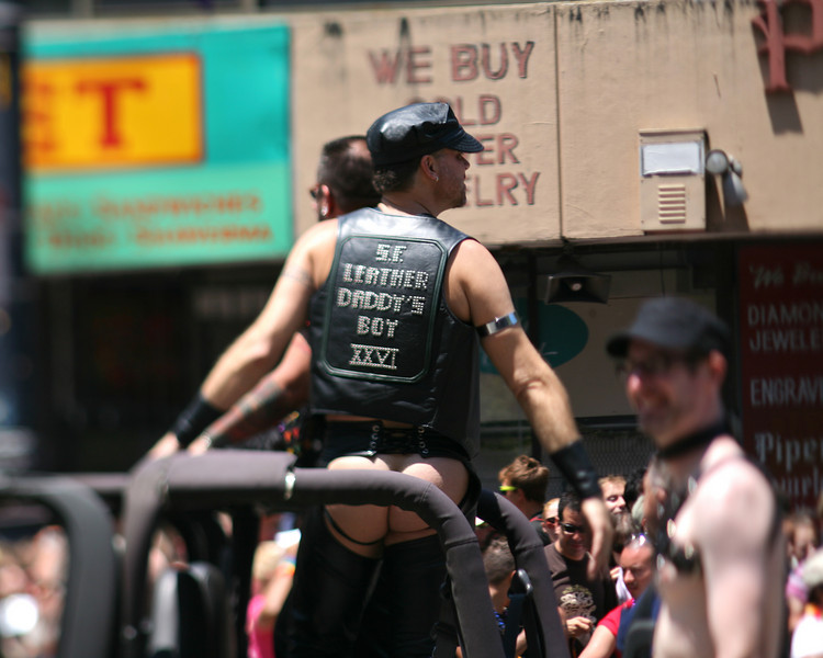 Leather Daddy's Boy, SF Pride Parade 2009
