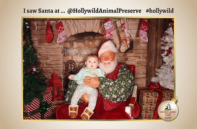 Hollywild Santa Photos - 121619