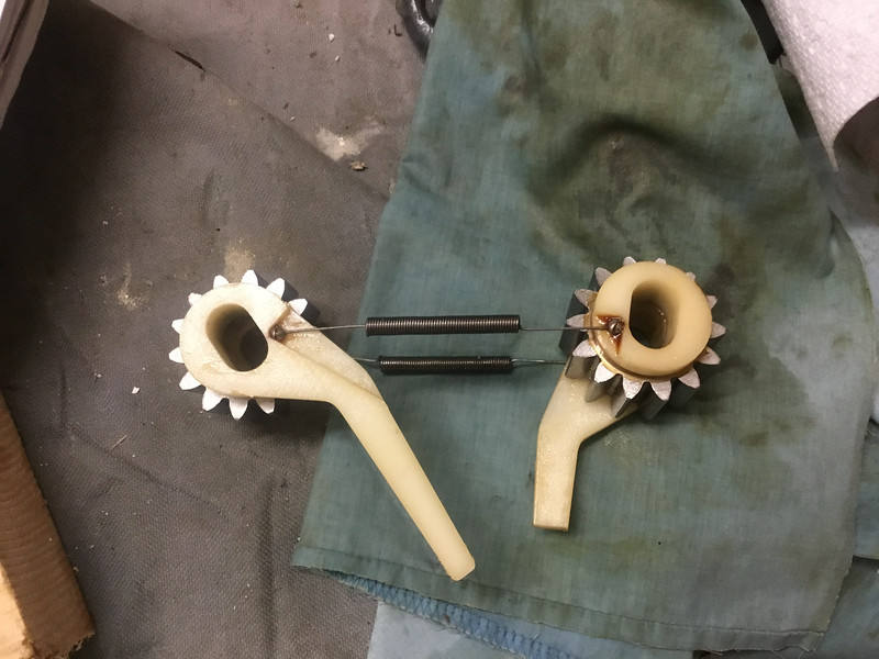 old ratchets, gears are good