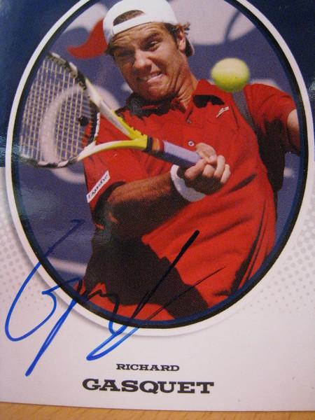 Richard Gasquet Signature