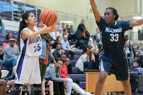Broughtongirls JV basketball vs Millbrook. February 14, 2019. 750_7010