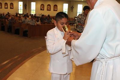 First Holy Communion May 3, 2015 12:30 p.m. Mass