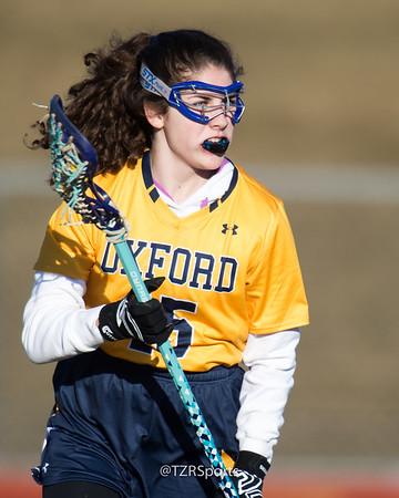 Girl's Varsity Lacrosse vs. Waterford United 3/26/2019