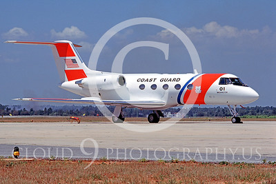 US Coast Guard Gulfstrean II VC-11 Military Airplane Pictures