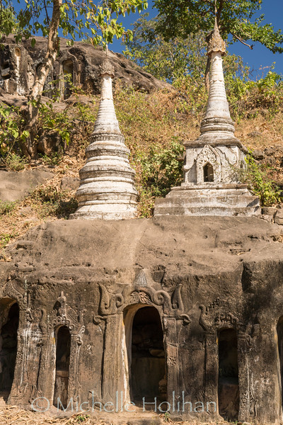 Po Win Taung Cave Temples, Monywa, Myanmar