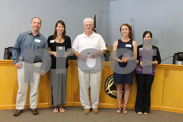 Chamber Tomorrow Leadership Class Graduates - May 2015