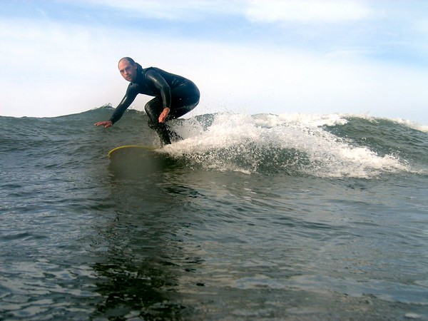 Chris Surfing photos