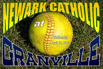 2013 Newark Catholic at Granville (04-10-13)