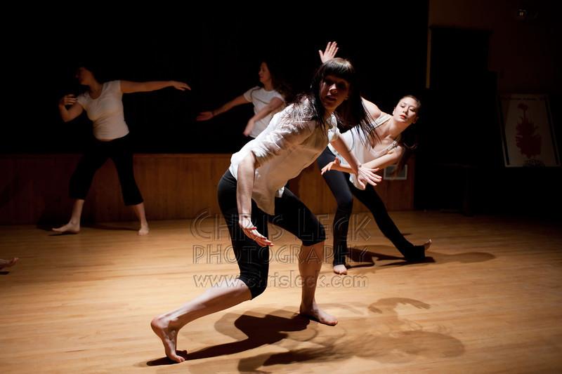 "Agnieszka Laska Dancers perform excerpt from ""Rite of Spring"""