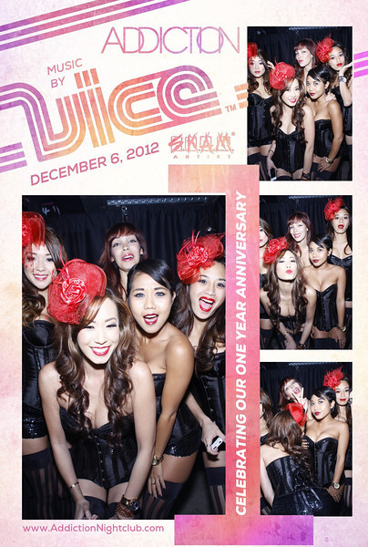 Addiction 1 year Party (Photo Booth)