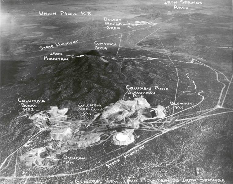 Iron Mountain, Utah.