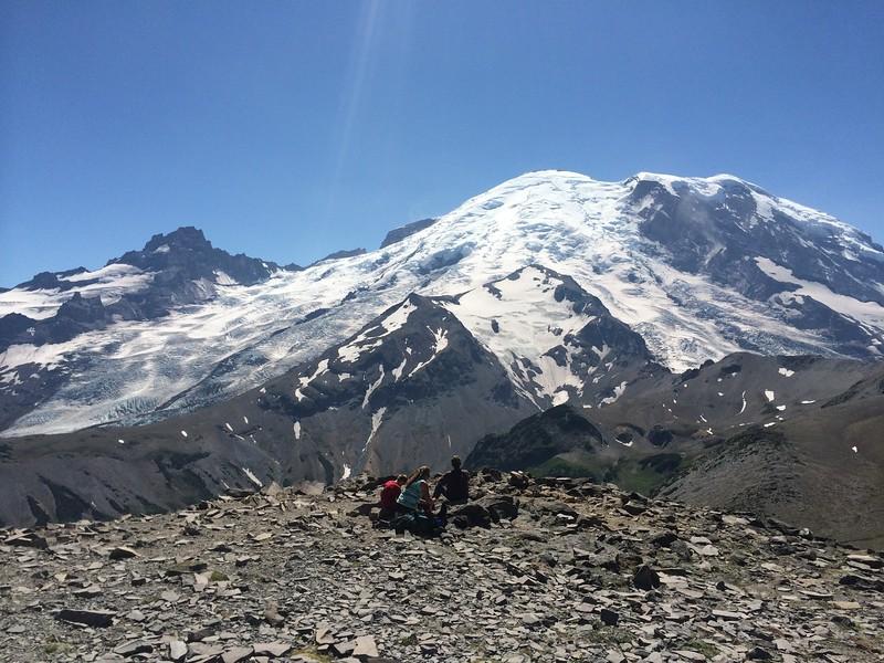 Burroughs Mountain Summit