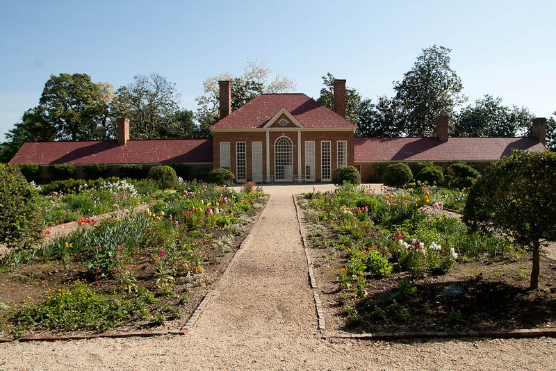 George Washington's gardens - Mt. Vernon