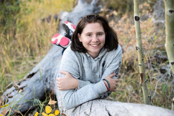 Lexie Kerr Senior Portrait Hoehne 2020