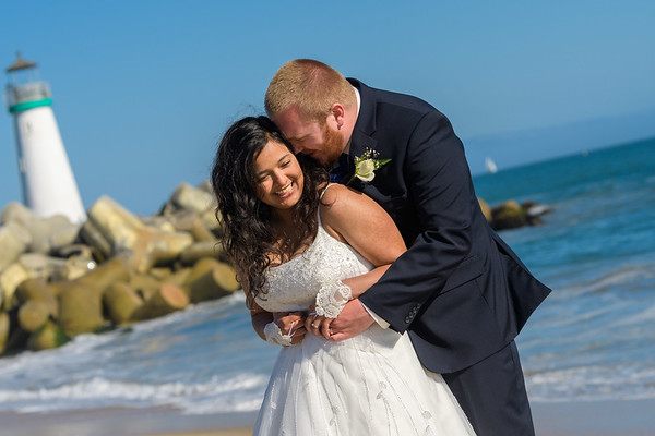 Gabriella and Evan Wedding @ Seabright Beach, Santa Cruz