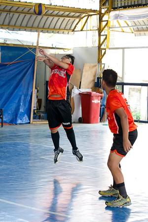 CAMPRISA HS Boys' Volleyball 2014 SFAMSC vs Sacred Heart