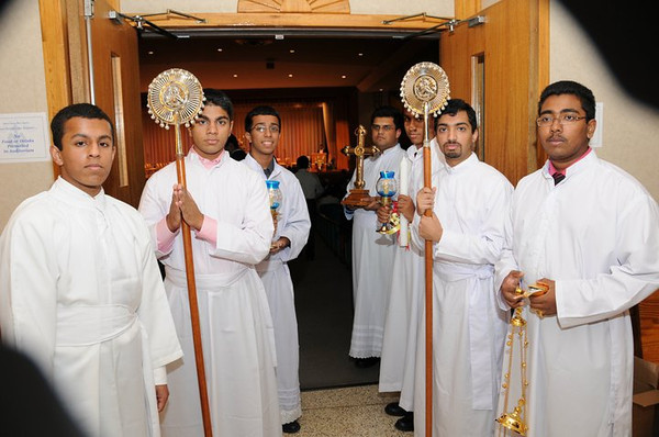 Exarchate inaguration