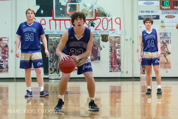 Broughton boys varsity basketball vs Sanderson. February 12, 2019. 750_6466