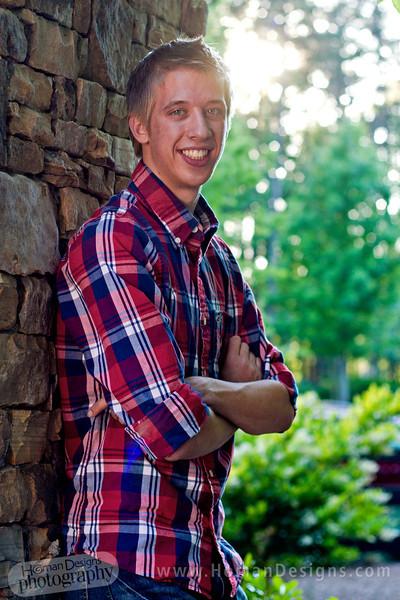 Landon Holm Senior Photo