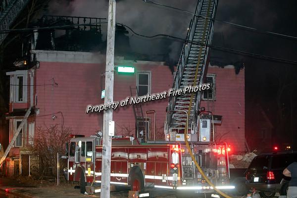 Providence- 3rd Alarm, Providence Street- 2/27/19