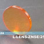 SKU: L-LENS-ZNSE/25/635, Φ25mm Zinc Selenide Lens Focal Length 63.5mm with AR/AR Coating for CO2