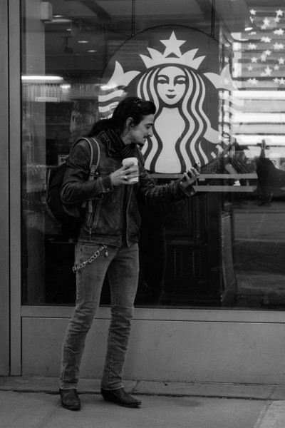 I call you on FaceTime at Starbucks