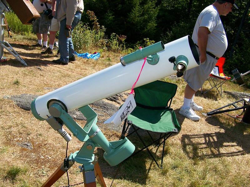 Restored 1957 Fecker Celestar. 4 inch f-8 Newtonian.