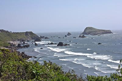 California Oregon Coast