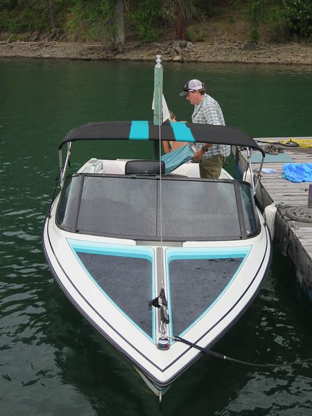 Todd Lochrie's Yacht