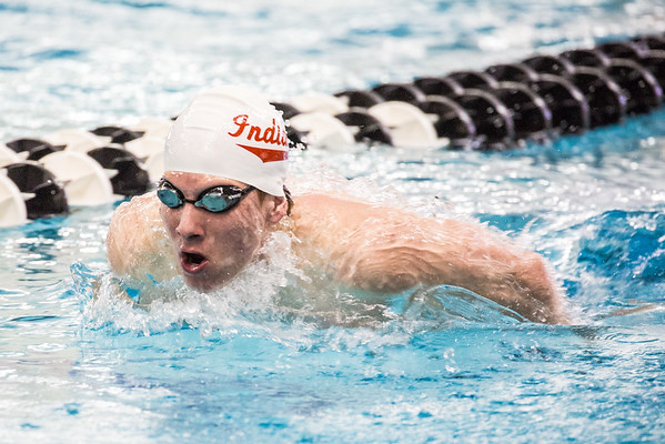 02-26-16 Big Ten Swimming and Diving Championships Day Three (Morning Session)