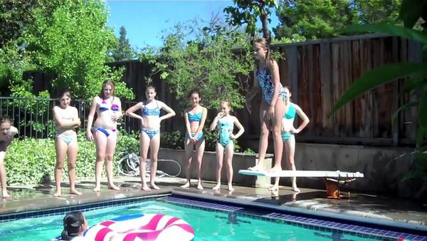 Kelly's Teen Dance Team Party