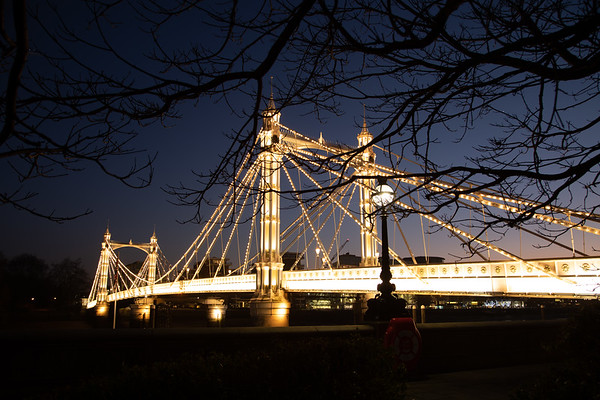 Albert Bridge, Chelsea