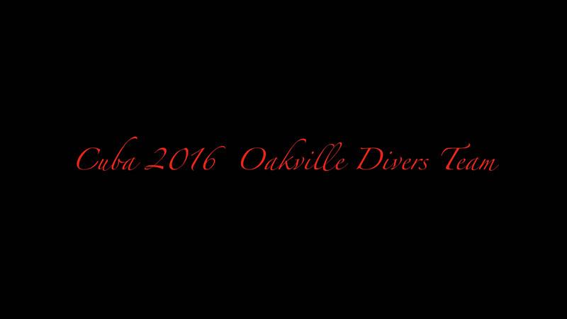 CUBA 2016 OAKVILLE DIVERS  .mp4
