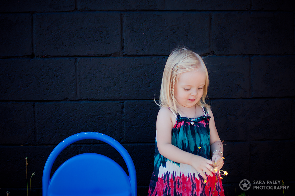 2nd birthday outdoor portraits
