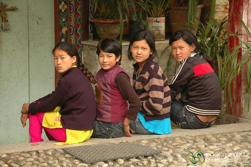 Hanging at Pemayangtse Gompa - Pelling, Sikkim