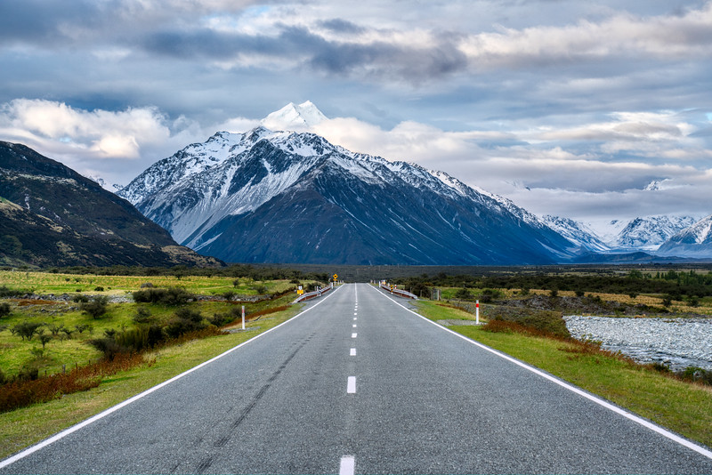 The Tip of Mount Cook
