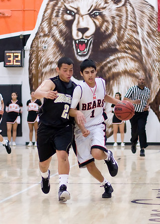 Basketball MHS vs Buhach Feb 20 2009