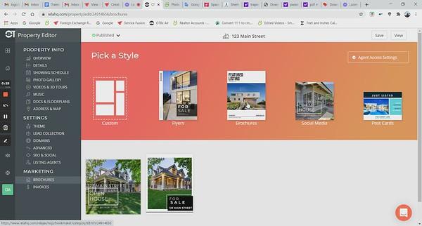 Feature Sheet - Brochure