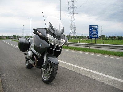 Testing the BMW R1200 RT