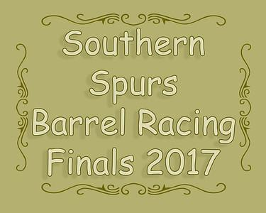 Southern Spurs Barrel Racing Finals 2017