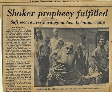 Historic Photos of the Mount Lebanon Shakers