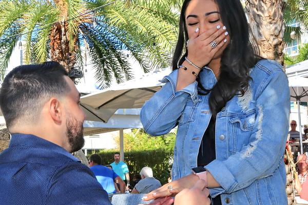 11-30-19 Stephen and Alexa get engaged!