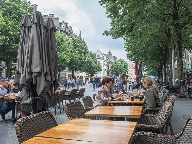 Outdoor Cafes Reims