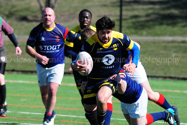 Gotham Knights Rugby at Four Leafs Tournament, March 24, 2018