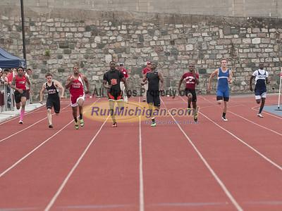 200M Dash Fnals - 2012 MHSAA LP D2 T&F Finals