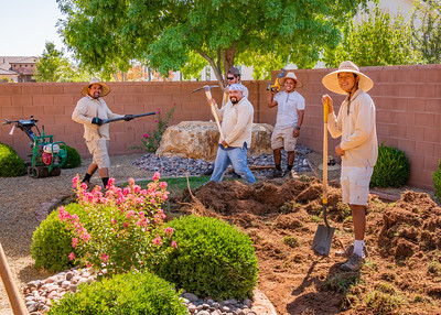 2021-09 St George Home Yard Reconstruction