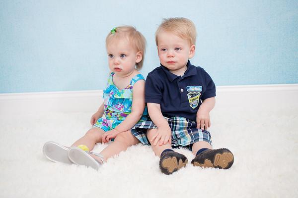 Jacob & Parker - 1 Year