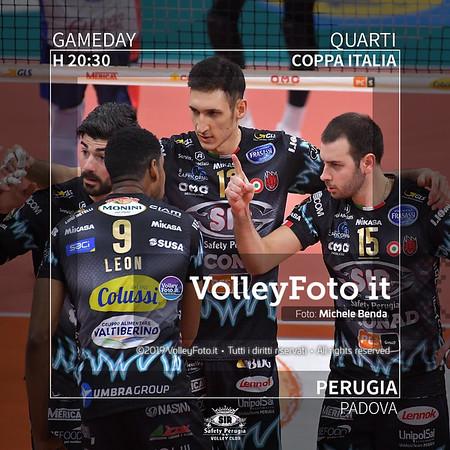 20200122 QF Coppa Italia: Perugia-Padova